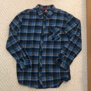 Quicksilver flannel